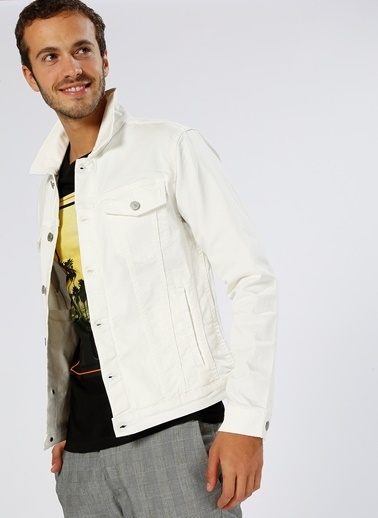 Jack & Jones Ceket Beyaz